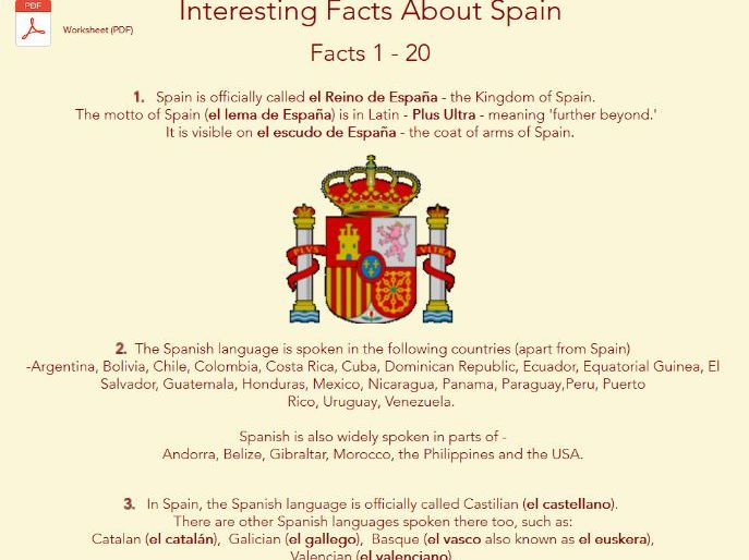 Italian Food Facts by dsoggiu - Teaching Resources - Tes