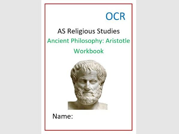 OCR Ancient Philosophy: Aristotle Workbook