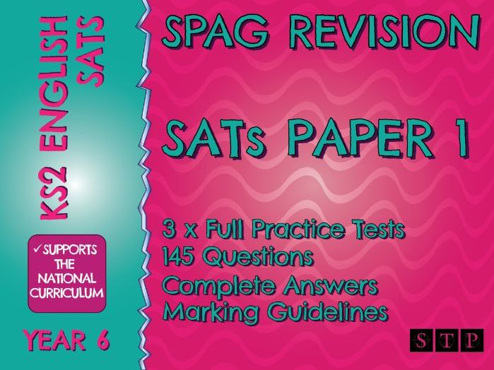 SPaG Revision SATs Practice Test Papers