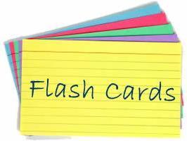 GCSE Chemistry Revision Flash Cards - Paper 1