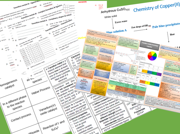 Transition metals bundle
