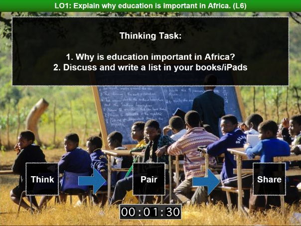 Africa SOW Lesson Thirteen: Education in Africa