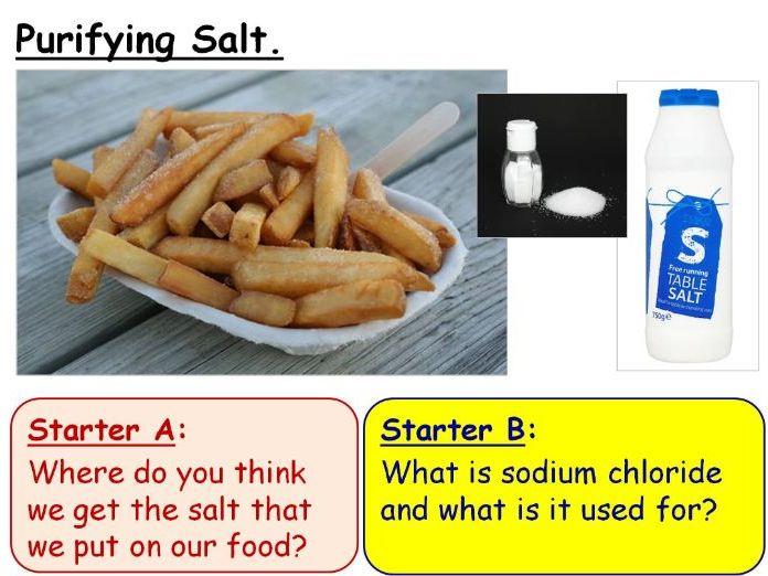 Rock Salt Practical - Double Lesson PowerPoint (KS3 7E)