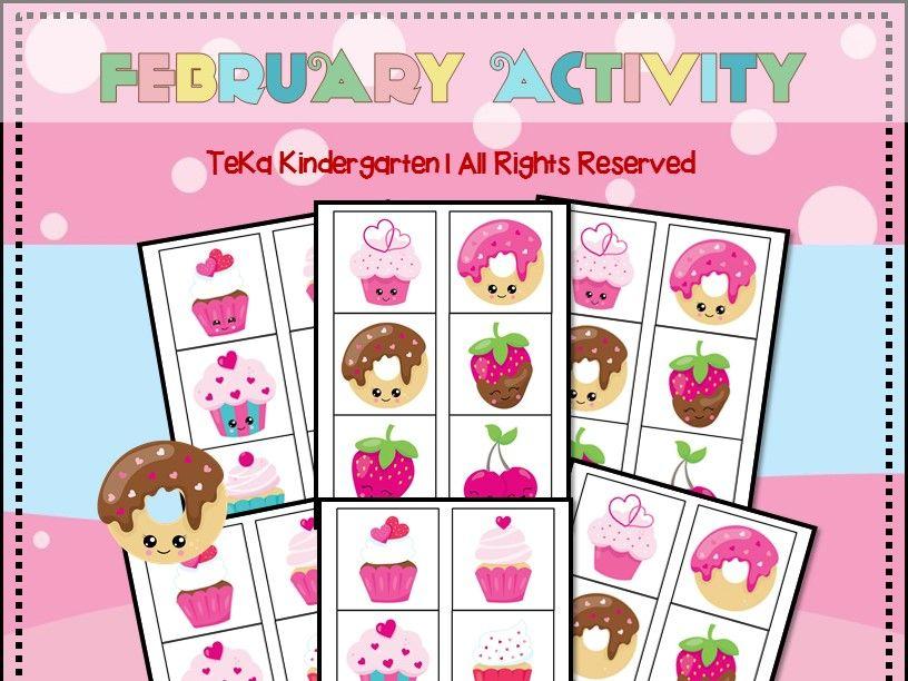 Cupcake Theme:  Memory Game Printable