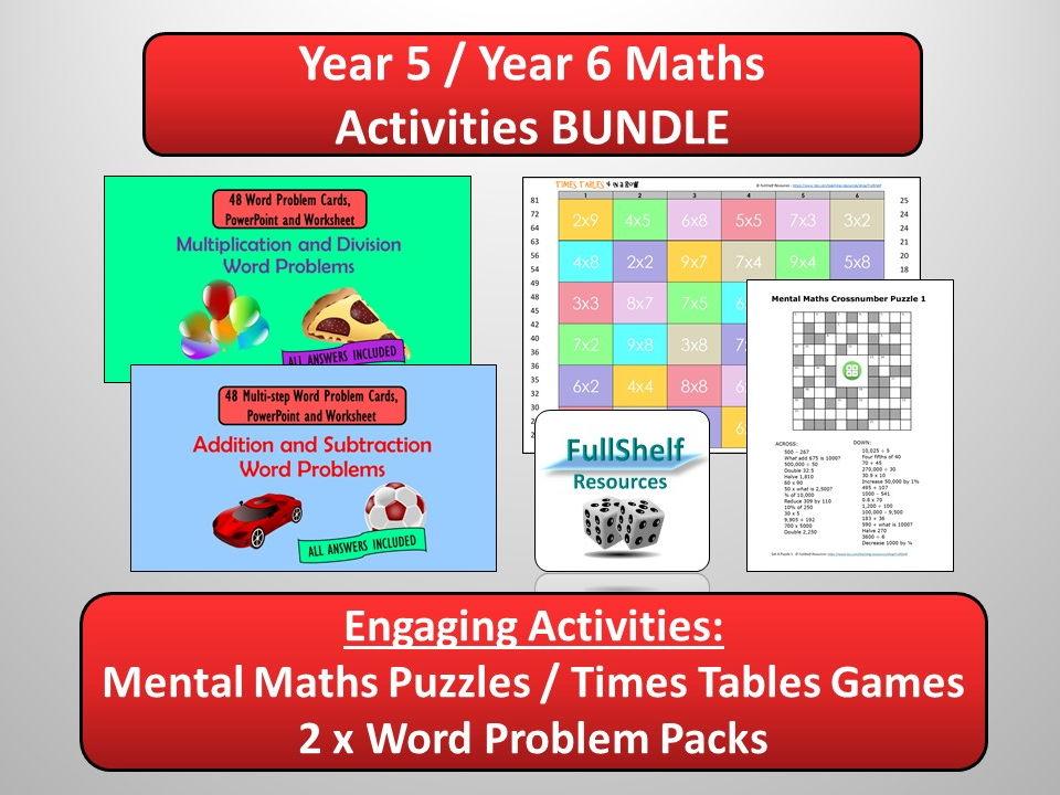 Maths Bundle (Year 6)