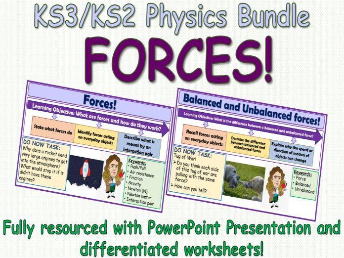 Forces KS3/KS2 Science