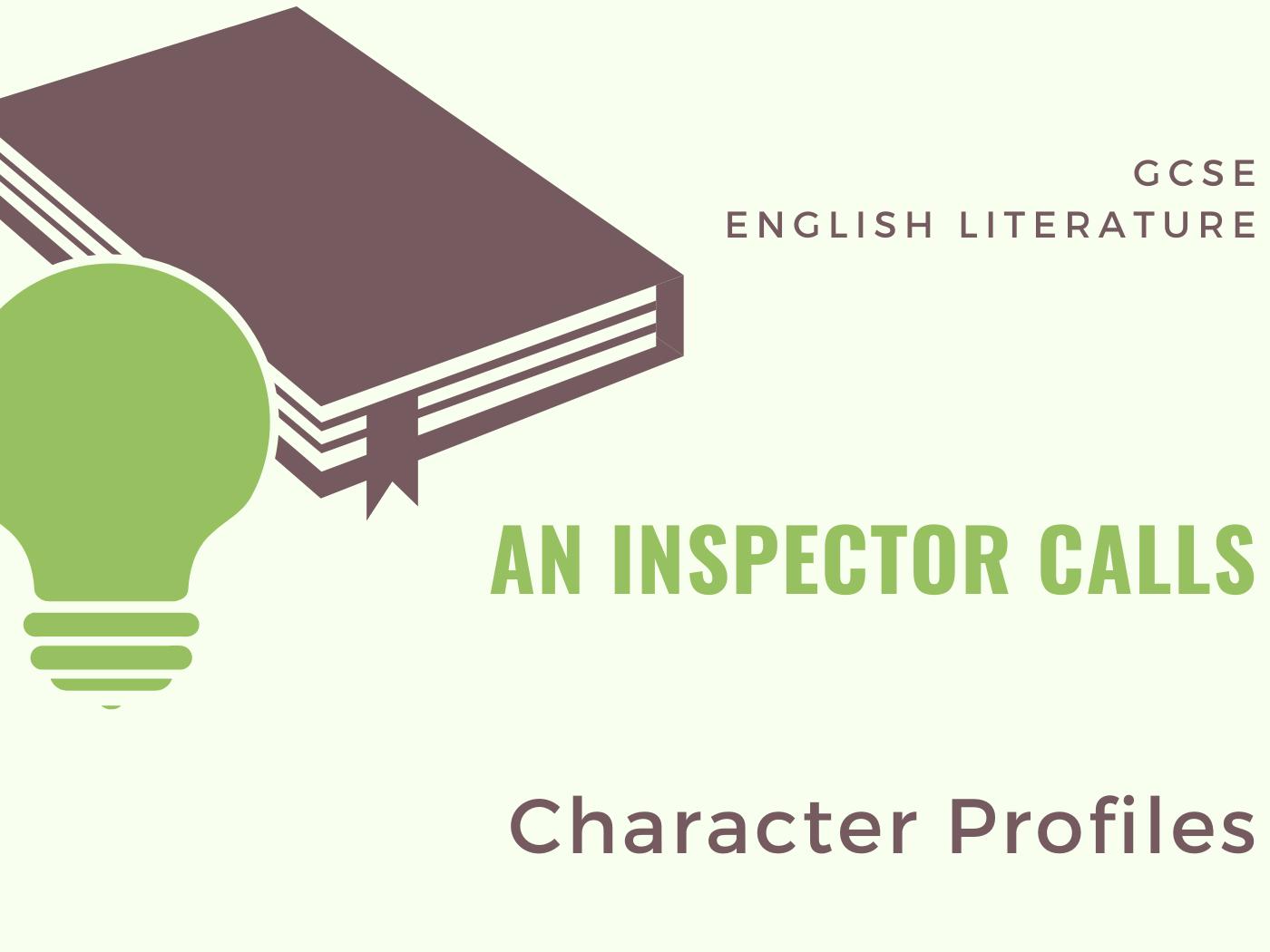 An Inspector Calls Character Profiles