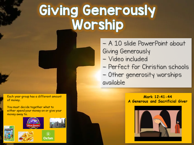Giving Generously - Worship