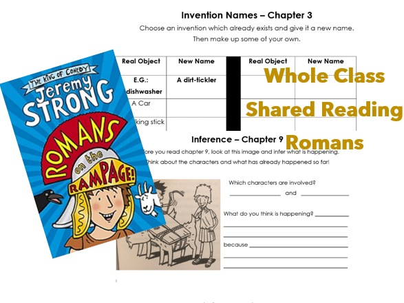 Whole Class Reading - Romans on the Rampage