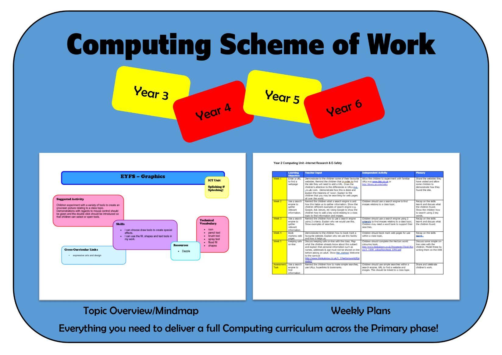 Key Stage 2 (KS2) Computing Scheme of Work
