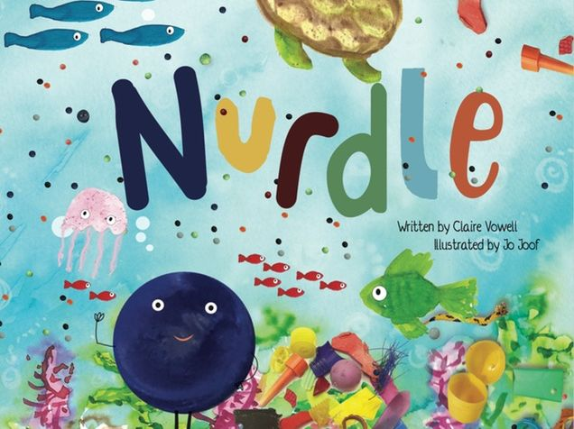Lesson ideas based on the children's book about ocean micro plastics - Nurdle