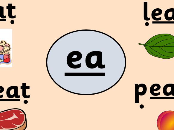 Alternative pronunciation - ea grapheme
