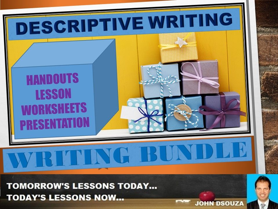 DESCRIPTIVE WRITING: BUNDLE