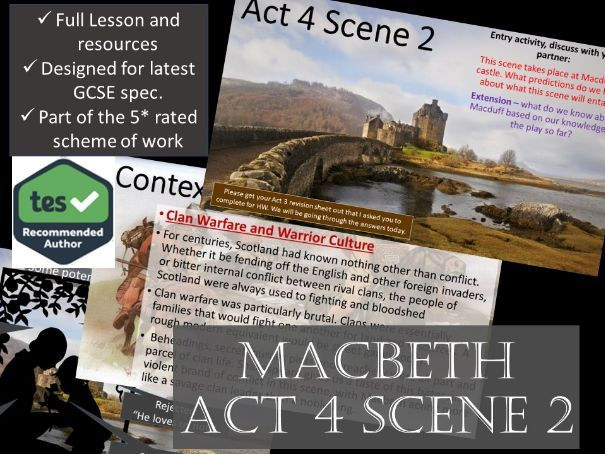 Act 4 Scene 2 Macbeth GCSE English Literature 9-1