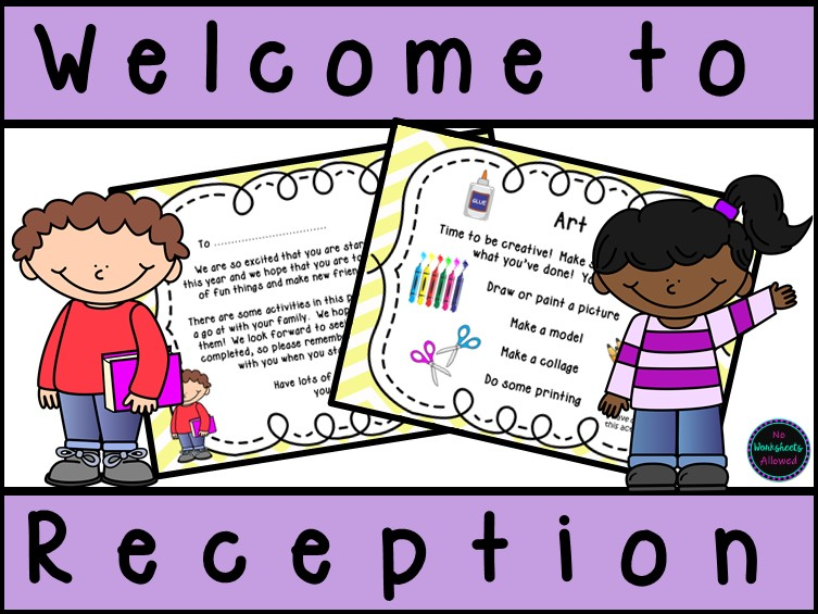Starting School/Reception Welcome Pack