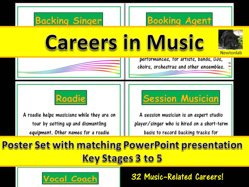 Careers in Music -  Key Stages 3 to 5