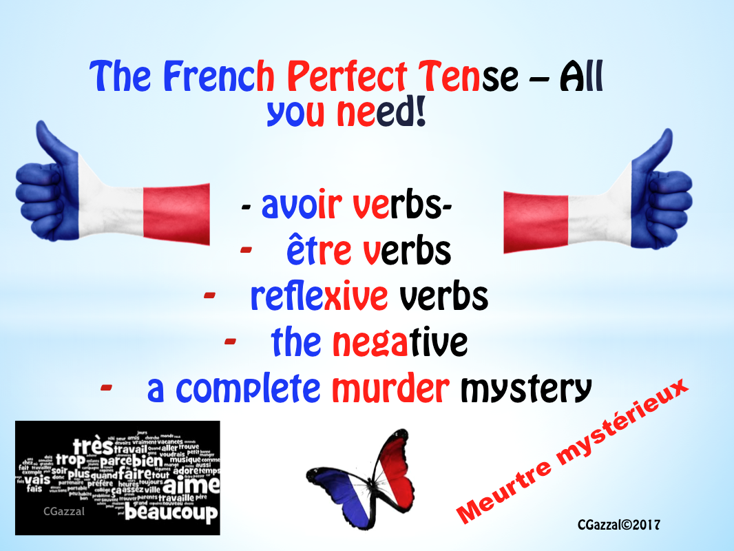 French Perfect Tense – All you need!