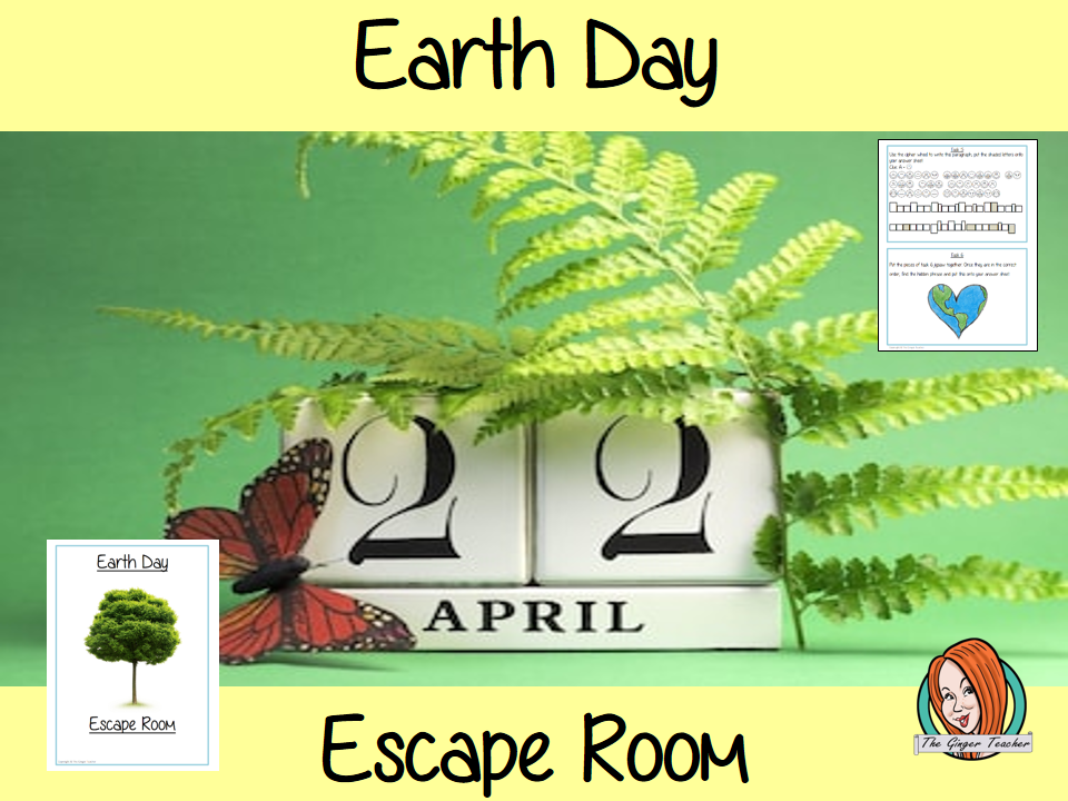 Earth Day Escape Room Game