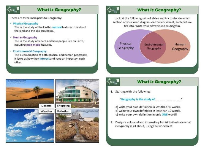 What is Geography? Introduction Lesson