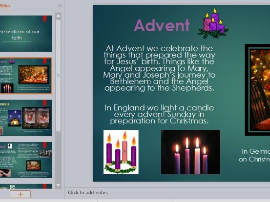 RE Celebrations in the Catholic Church Powerpoint Presentation and Worksheet KS1