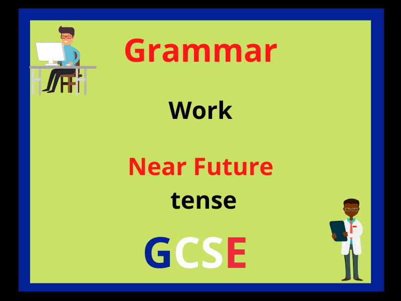 French near future tense - work