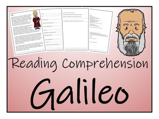 UKS2 Science - Galileo Reading Comprehension Activity