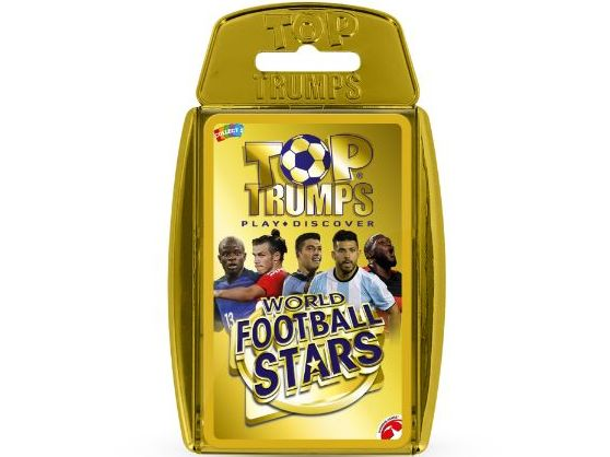 World Football Stars Official Top Trumps - Full Deck