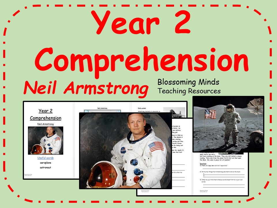 KS1 Comprehension - Neil Armstrong