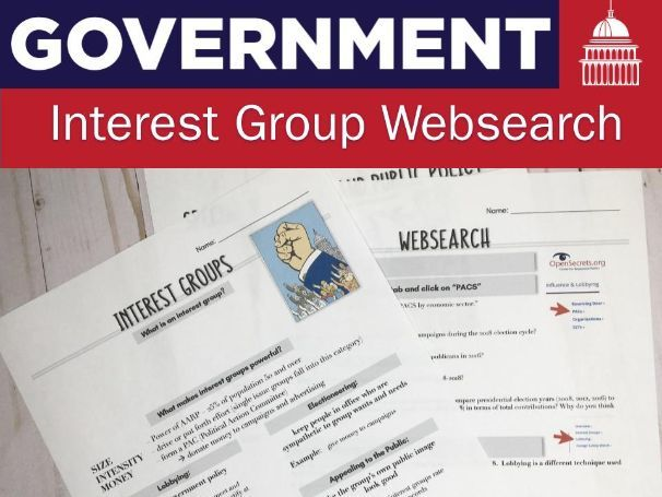 Interest Group Web-search