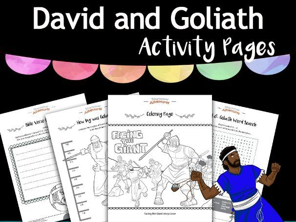 David & Goliath Activity Book FREEBIE