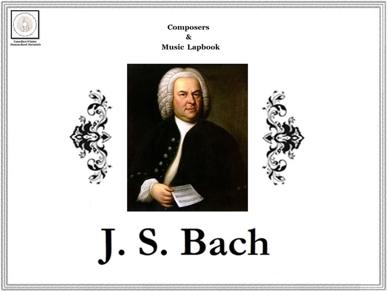 Composers & Music Lapbook: J. S. Bach