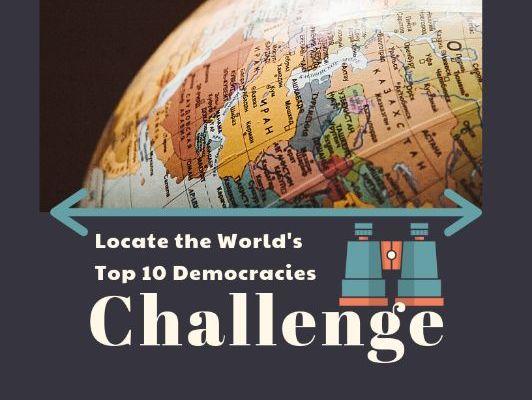 Challenge: Locate the World's Top Ten Democracies