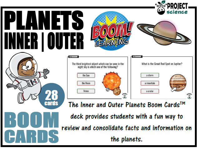 Planets Boom Cards™ - Distance Learning