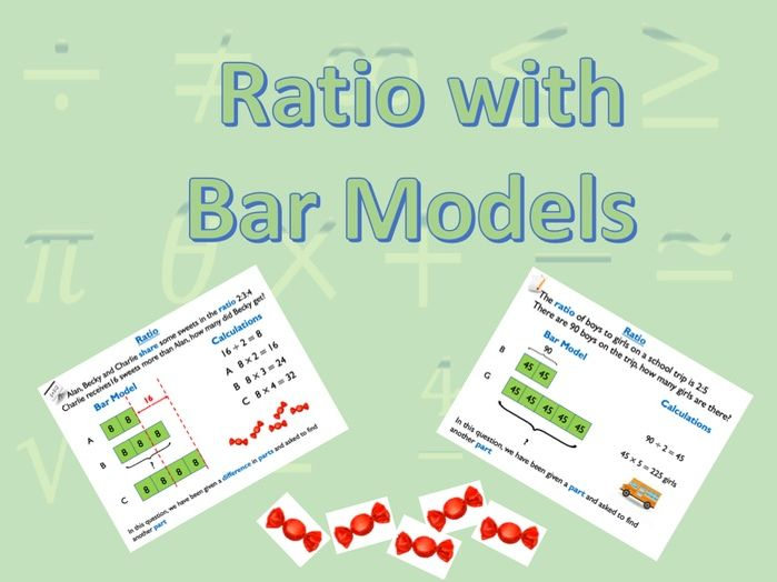 Ratio with Bar Models