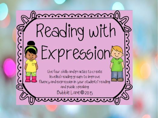 Reading With Expression and Fluency - Grades 3-4
