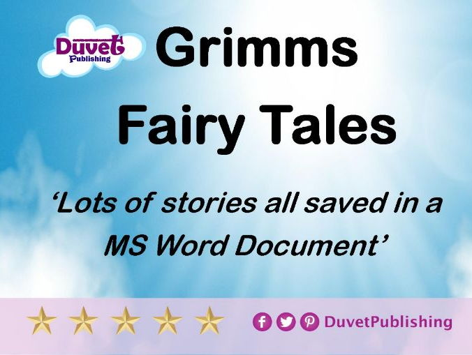 Grimms Fairy Tales  for you to read/copy/paste/edit
