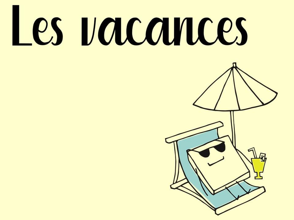French GCSE-Holidays