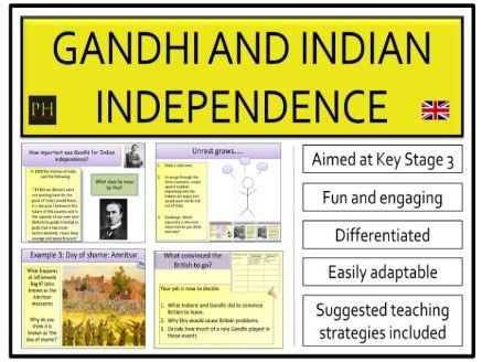 Gandhi and Indian Independence