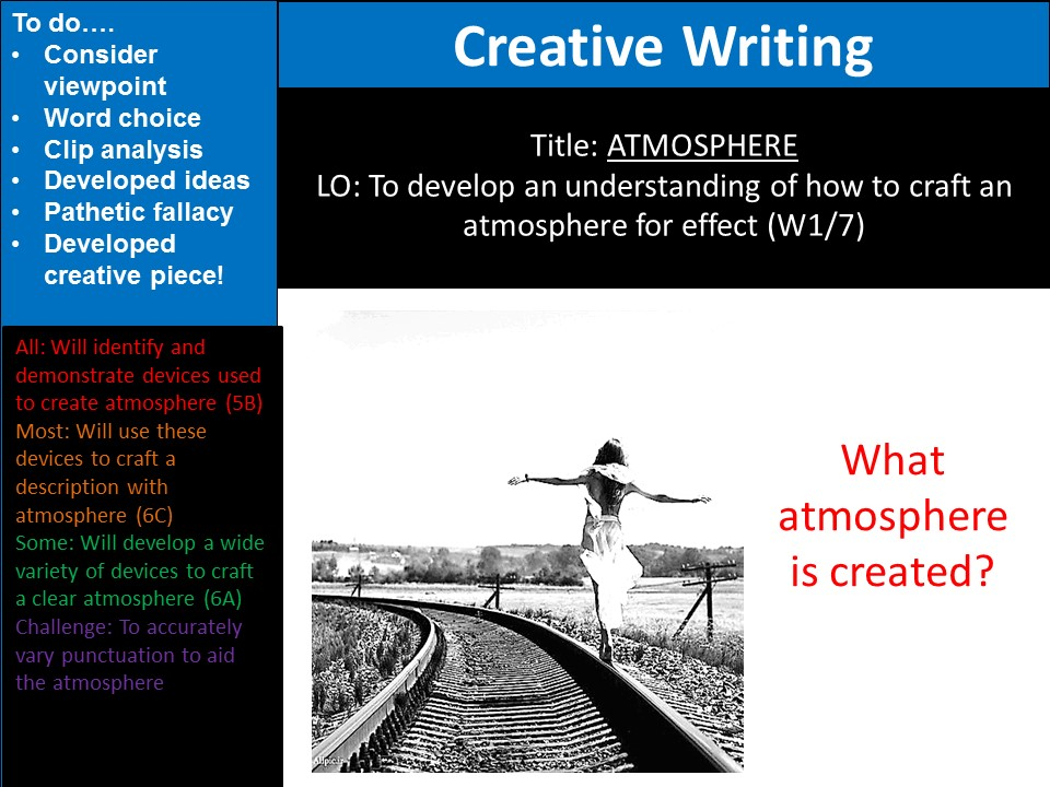 Creating Atmosphere- Creative Writing