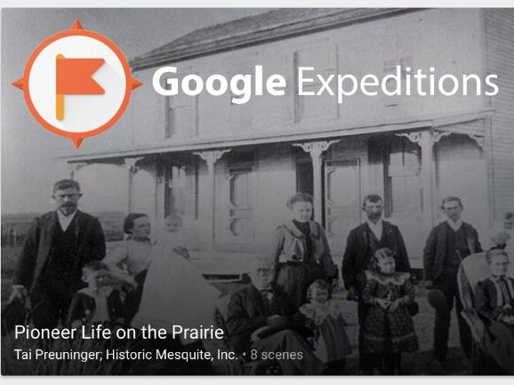 Pioneer Life on the Prairie #GoogleExpeditions
