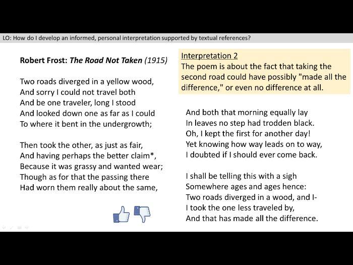 Unseen Poetry - Lesson 1 (Interpretation)