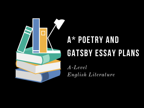 A* POETRY AND GATSBY 3 PLANS: THE FLEA, NON SUM, LA BELLE