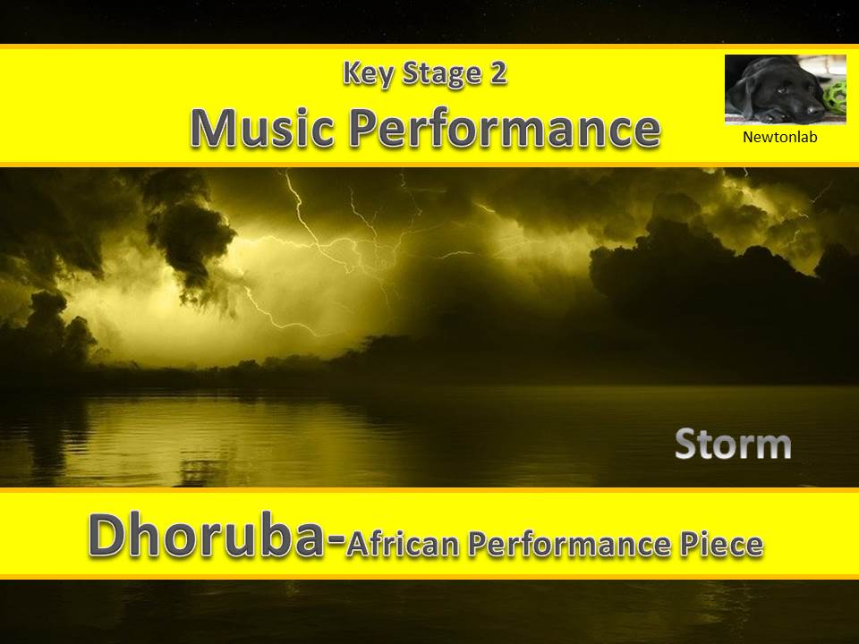 African Percussion Performance Piece - Dhoruba (Storm) - Key Stage 2