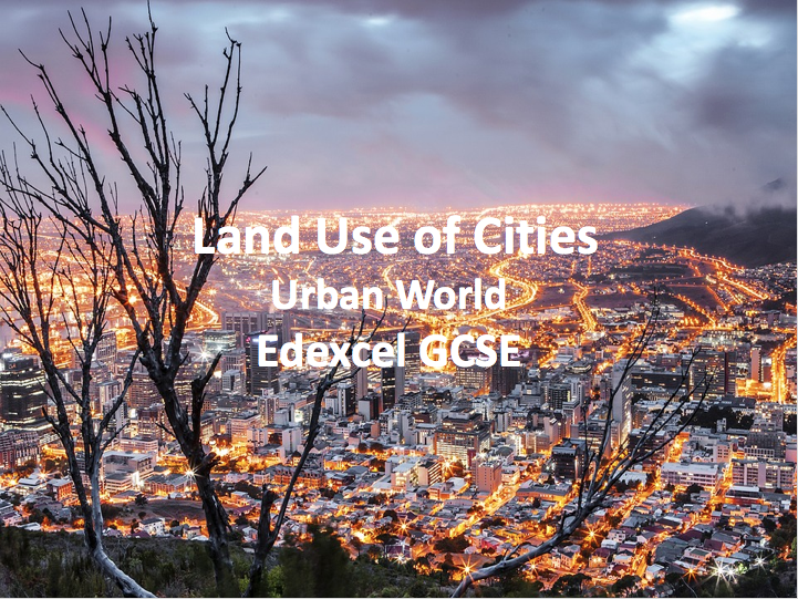 Land Use of Cities