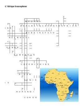 Afrique francophone Partner Puzzle