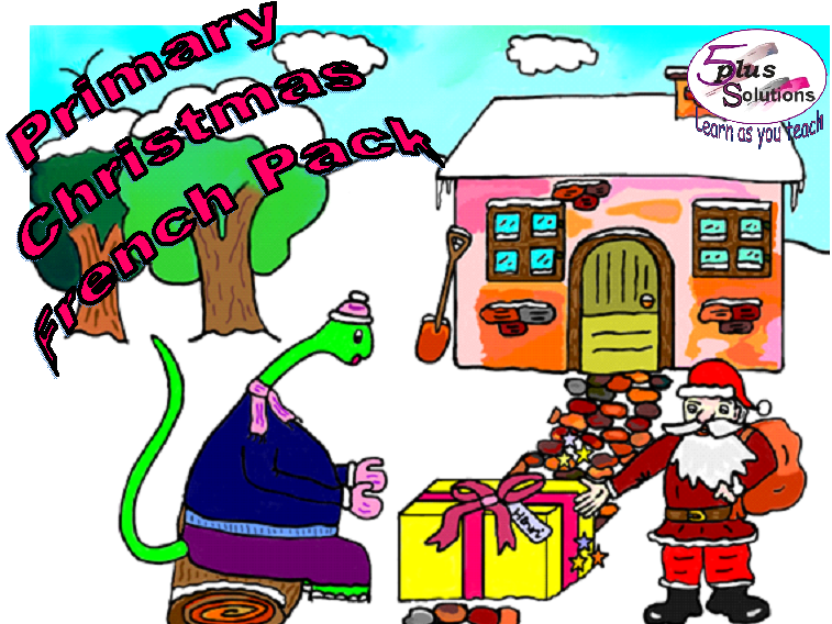 Primary French FUN CHRISTMAS PACK