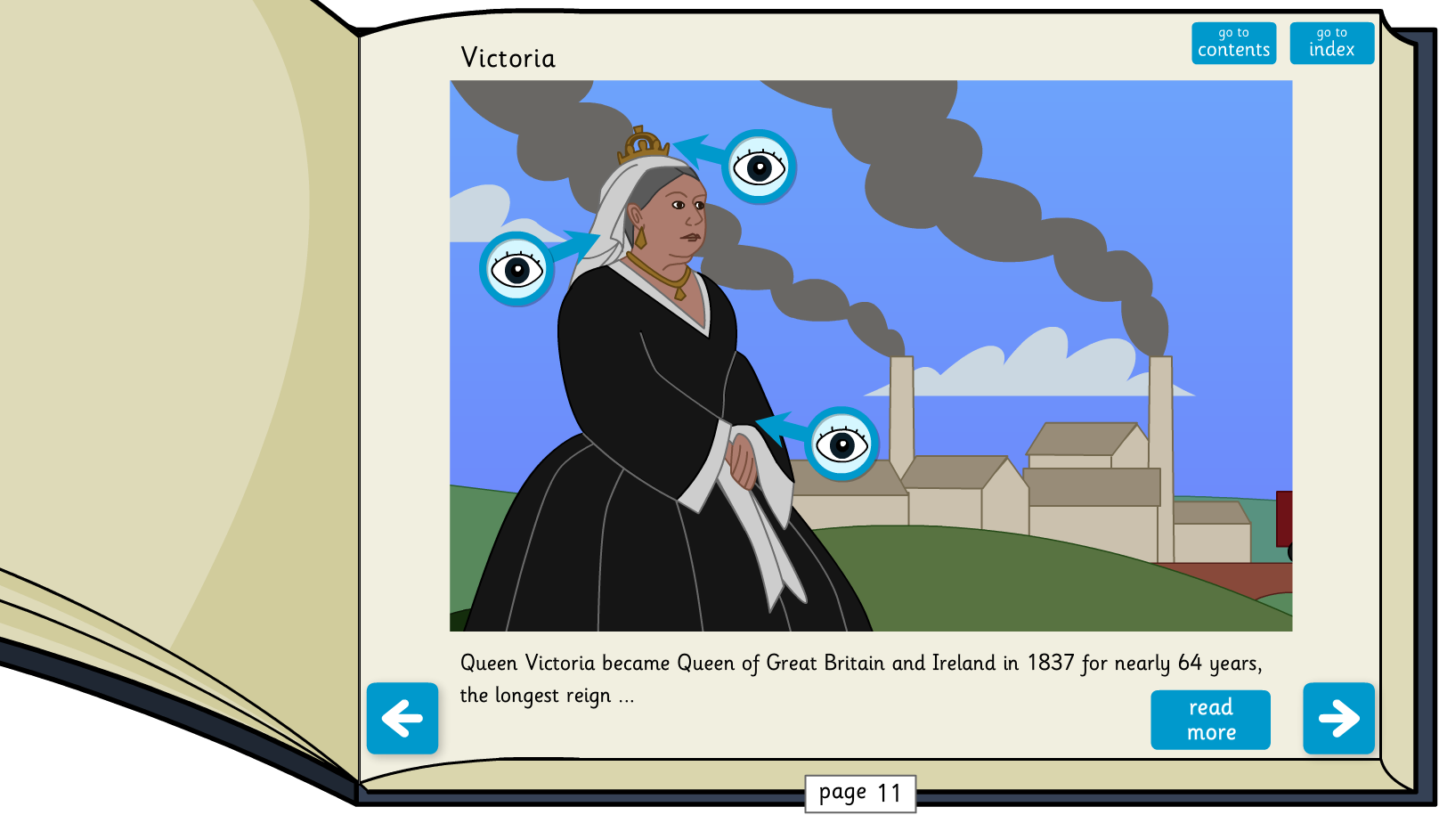 Kings, Queens and Rulers Interactive Information Book - Reading Level B - KS1