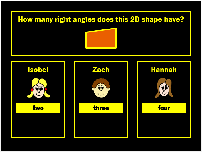 2D and 3D Shapes Powerpoint Game by Arithmetickx