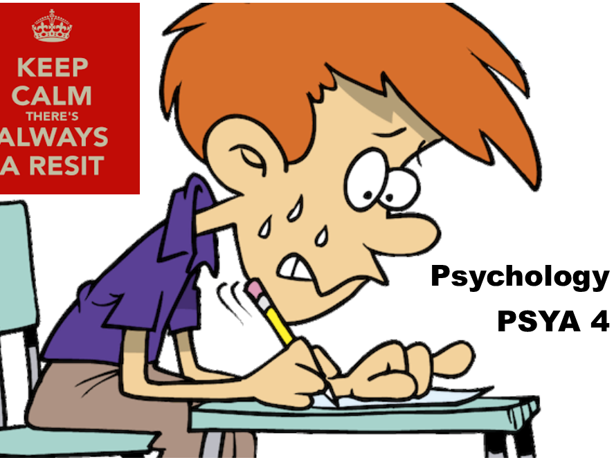 SPECIAL OFFER - Old Specification - PSYA 4 Workbooks