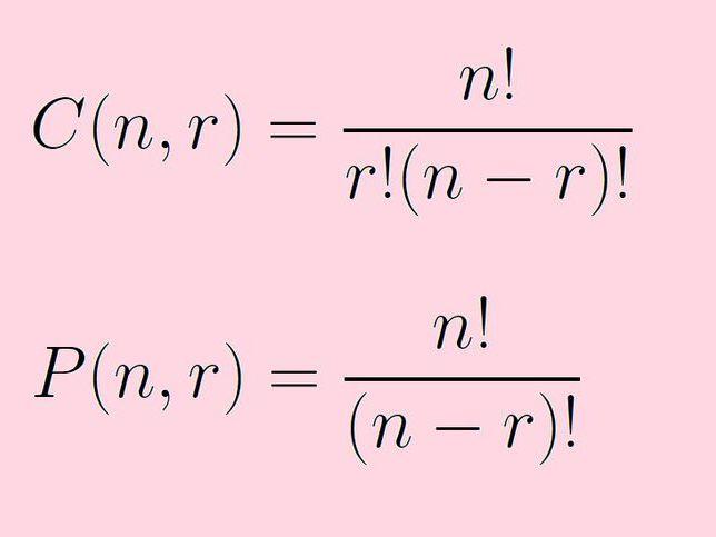 0606 IGCSE Add Maths Permutations & Combinations